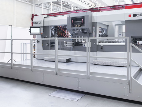 Bobst launches new hot foil stamper for premium cross and inline foiling