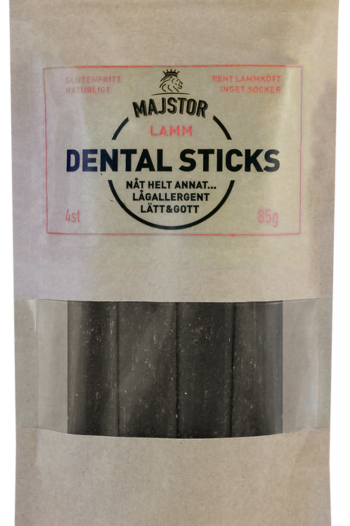 Majstor Dental Sticks. Lamm 4-pack