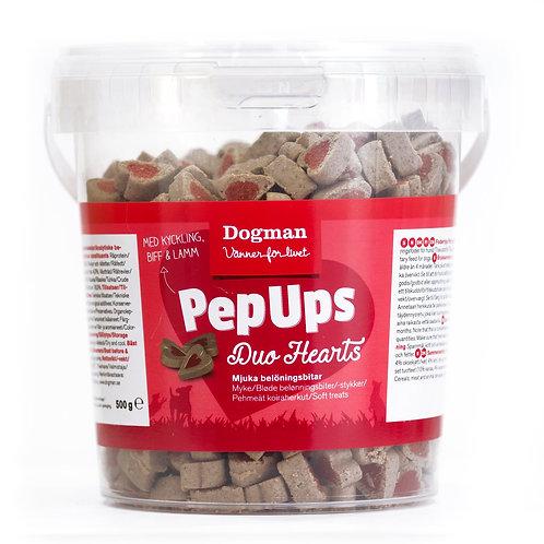Pep Ups Duo hjärtan 3-smak