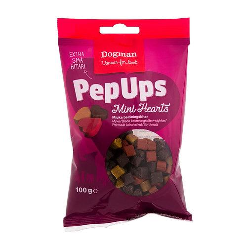 Pep Ups - Mini hjärtan 100g