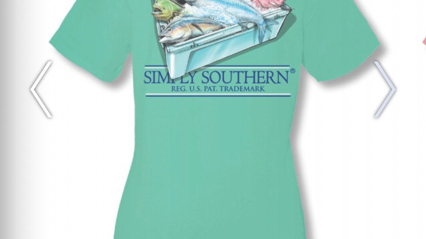 SIMPLY SOUTHERN FISH COOLER