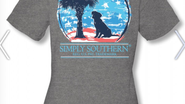 SIMPLY SOUTHERN  PALM DOGGY