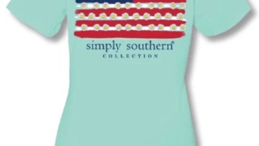 SIMPLY SOUTHERN FLAG