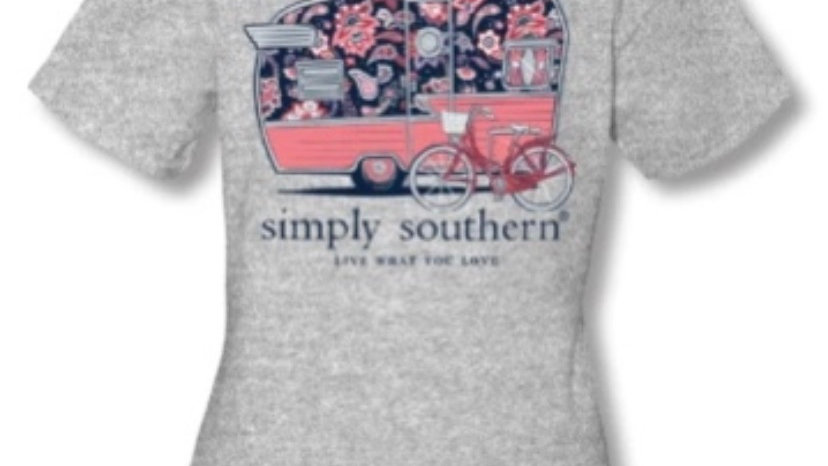 SIMPLY SOUTHERN HAPPY CAMPER