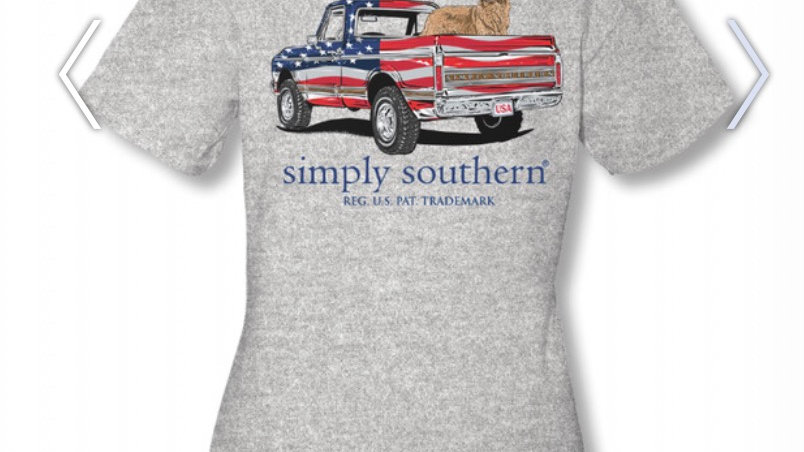 SIMPLY SOUTHERN AMERICAN TRUCK