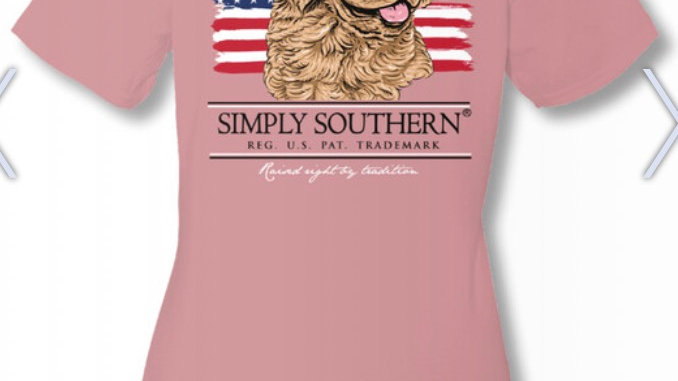 SIMPLY SOUTHERN AMERICAN DOG