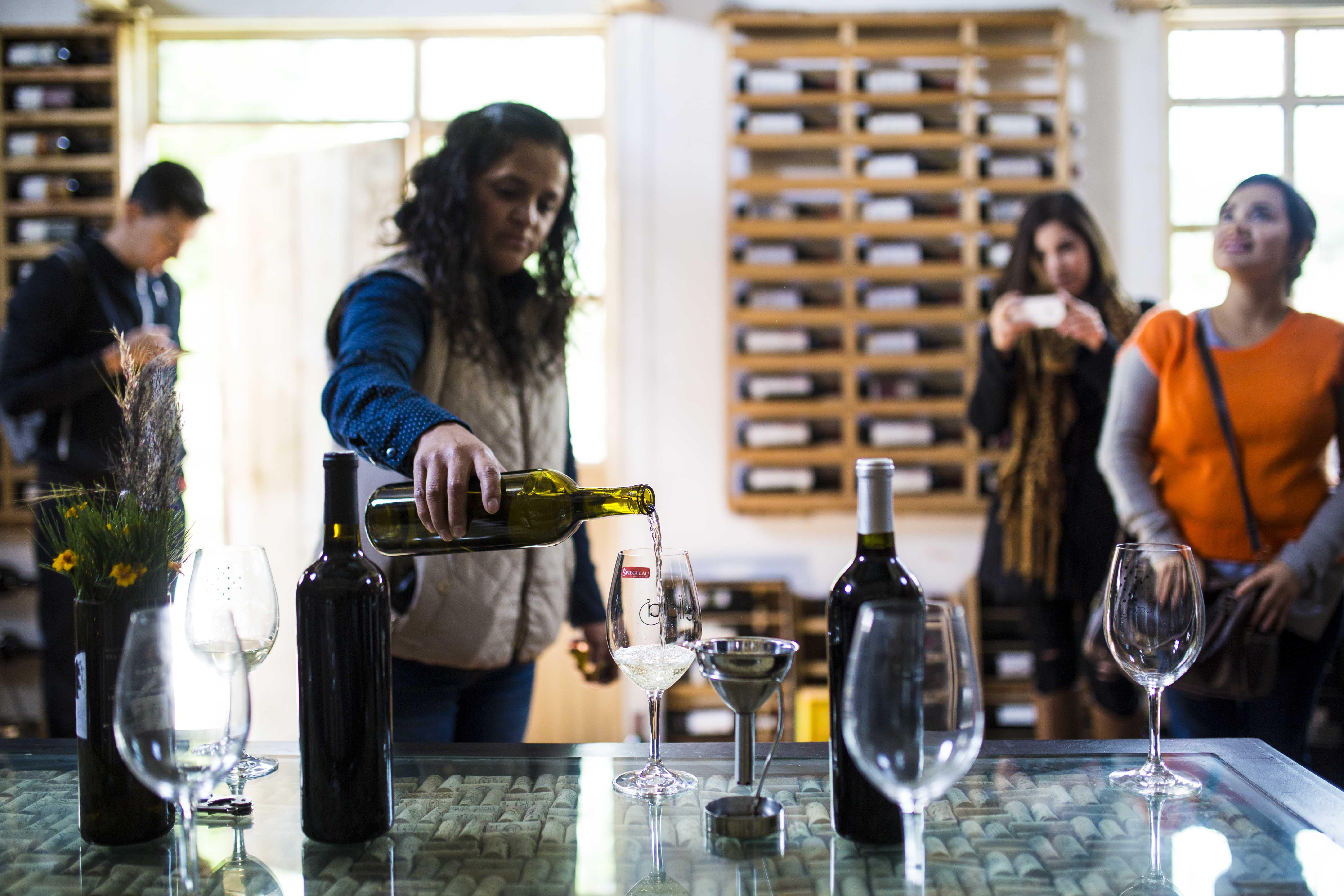Degustation de vino