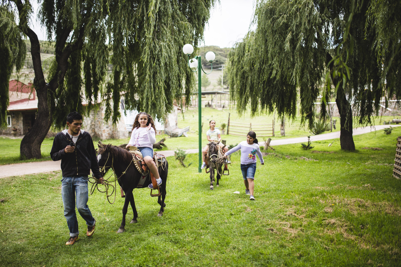 Paseos guiados en poni