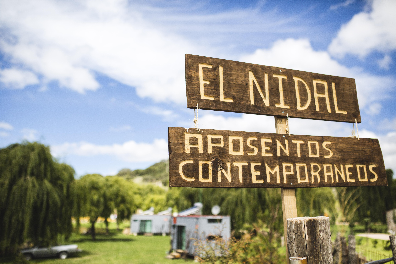 Vista entrada principal de El Nidal
