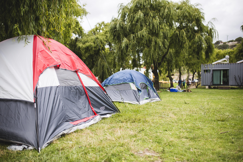 Camping con la comodidad