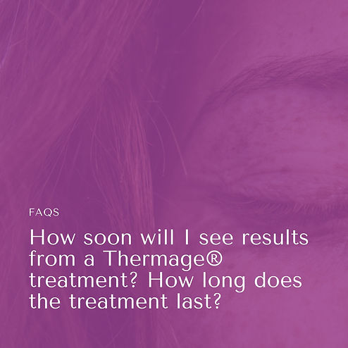 How soon will I see results from a Therm