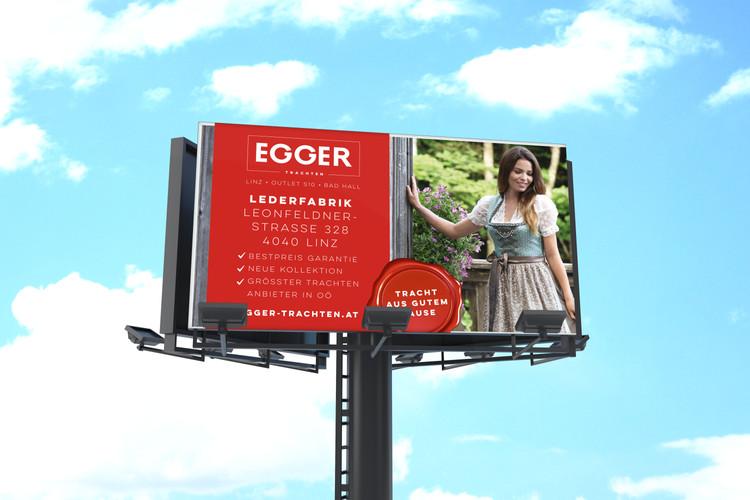 EGGER Trachten Plakat