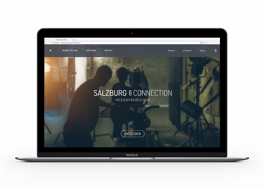 Salzburg Connection Webseite