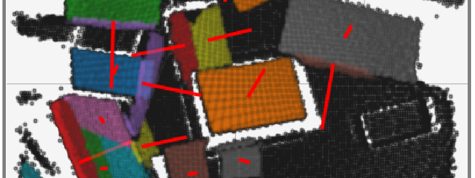 3D Pickpoints in pointcloud