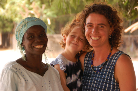 Fieldwork in rural Guinea Bissau photo credit Joanna Davidson