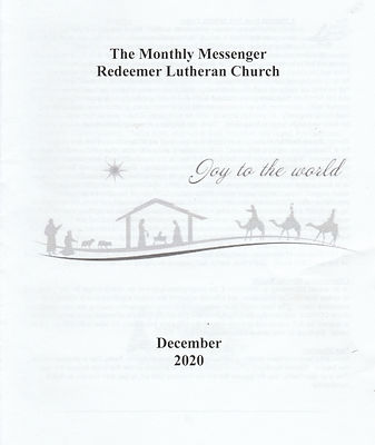 December 2020 monthly cover