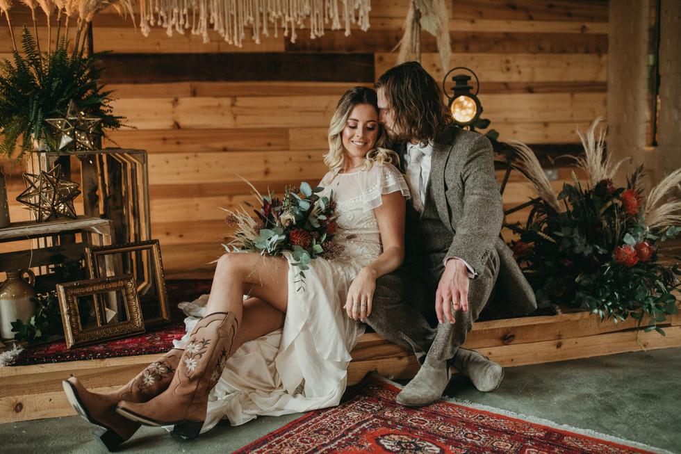 Western Boho Wedding