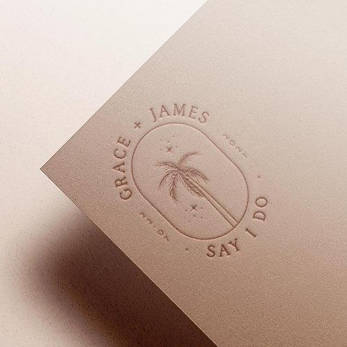 Custom Monogram | Palm