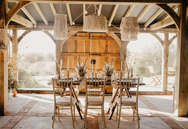 Crabapple Barn Boho Wedding