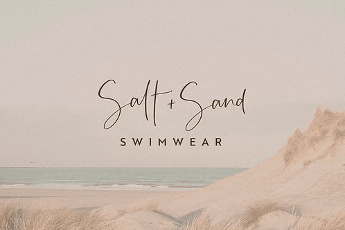 Custom Logo | Salt + Sand