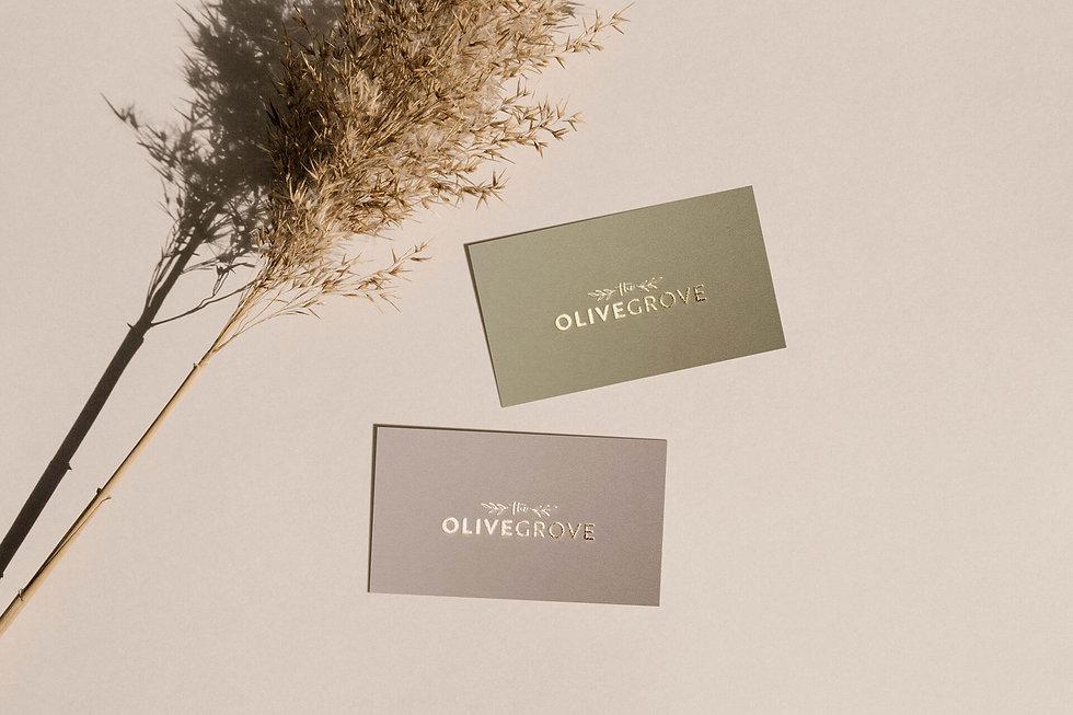 ivy-inks-paper-co-olive-grove-restaurant-logo-design-business-cards-gold-foil.jpg