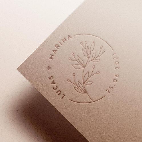 Custom Monogram | Botanical
