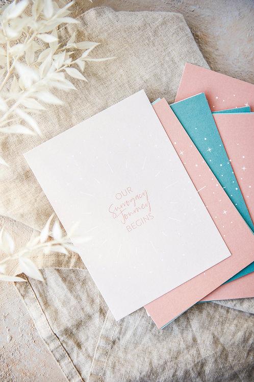 Surrogacy Milestone Cards