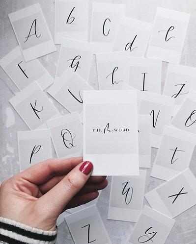 Polaroid Cards