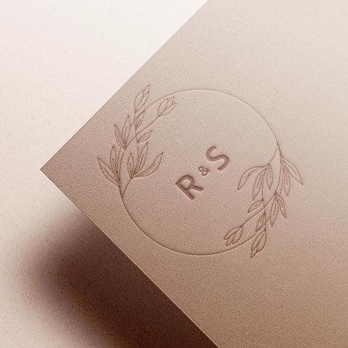Custom Monogram | Foliage