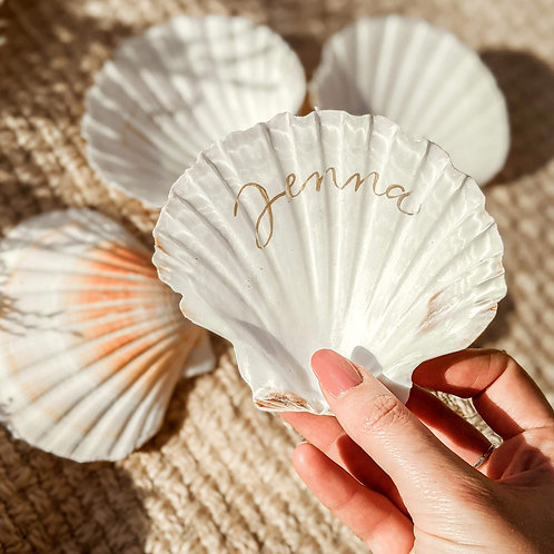 Scallop Shell Place Names
