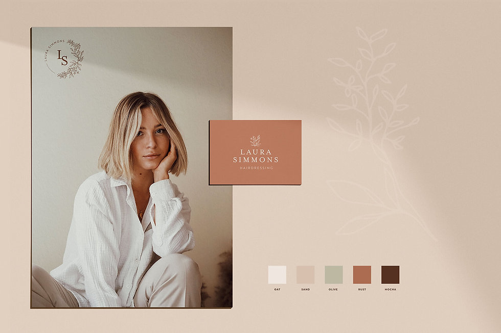 ivy-inks-paper-co-laura-simmons-hairdressing-branding--stationery-design-botanical-colours