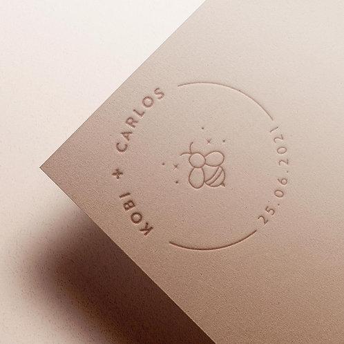 Custom Monogram | Bee Roundel
