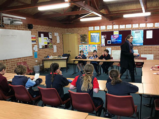 Year 6 students get a 'taste' of Year 7