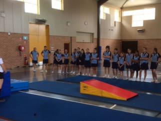 Year 8 Gymnastics Program