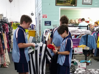 Year 8 gets creative op shopping
