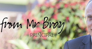 A note from Mr Bray - 9 August 2019