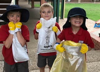 After School Care - Clean up Australia Day