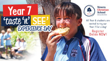 Year 7 Taste 'N' See Experience Day - Thursday 4 March 2021