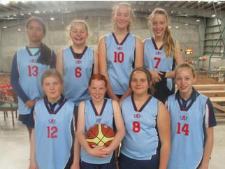 Junior girls basketball - 2nd overall!