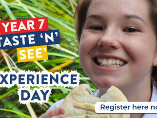 Year 7 Taste 'N' See Experience Day -  Friday, 8 June 2018