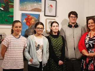 NCS Success in the Shoalhaven Youth Art Prize