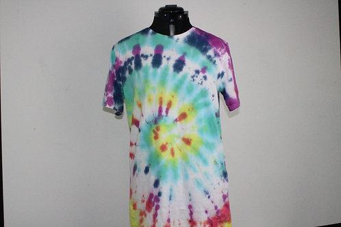 Tie Dye Shirt Spiral Design