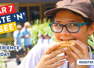 Year 7 Taste 'N' See Experience Day -  Friday, 28 February 2020