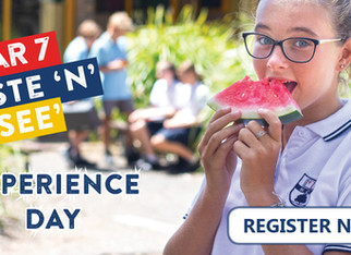 Year 7 Taste 'N' See Experience Day -  Friday, 8 March 2019