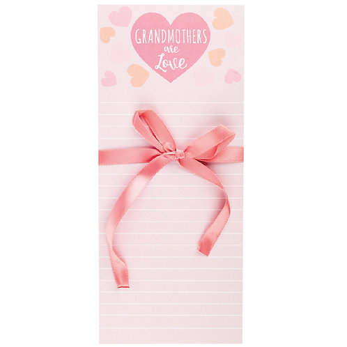 Grandmother is Love Note Pad