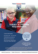 2020 Subject and Uniform Requirements Co