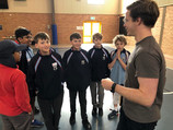 Stage 3 students get Bible FIT