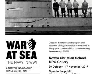 War at Sea Exhibit comes to NCS