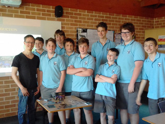 STEM Lunch with Michael Agnew