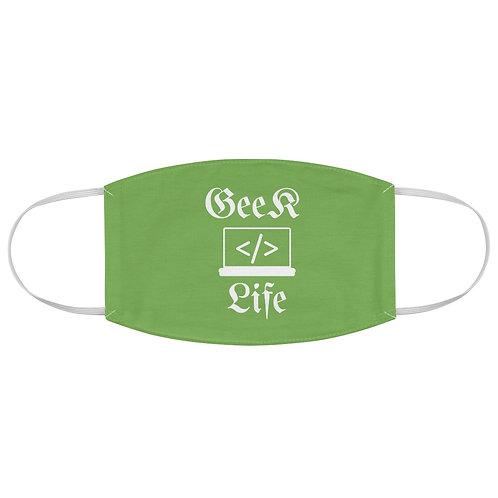 Geek Life - Fabric Face Mask